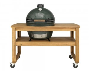 Akacjowy Stół do grilla Big Green Egg XL