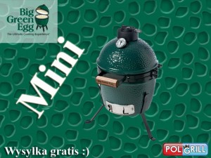 Grill  Big Green Egg Mini. Zestaw 2