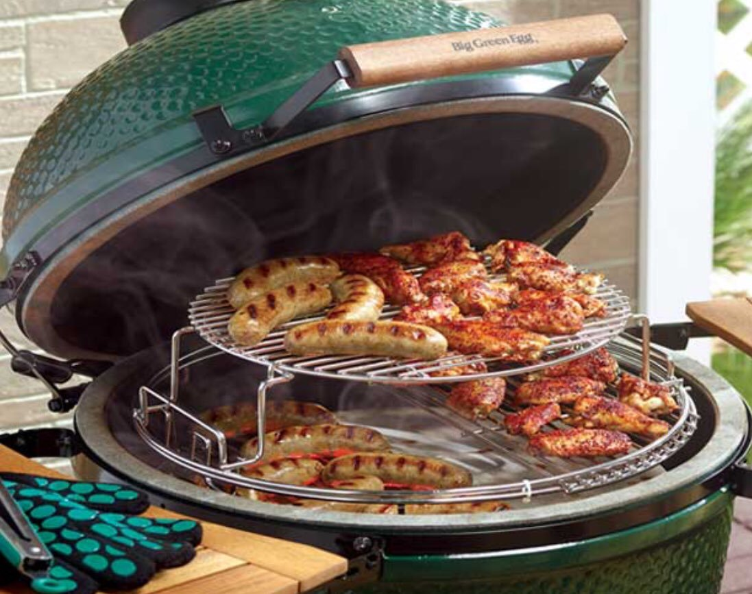 grill big green egg 2 xl polgrill