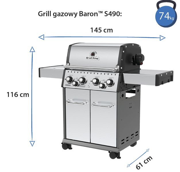 grill baron s 490