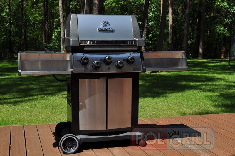 grill gazowy broil king sovereign 90 ogród w lesie
