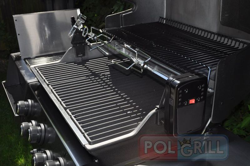 grill gazowy broil king sovereign 90 rożno obrotowe