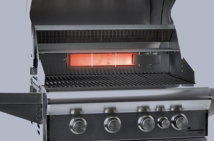 palnik infrared grill landmann ardor
