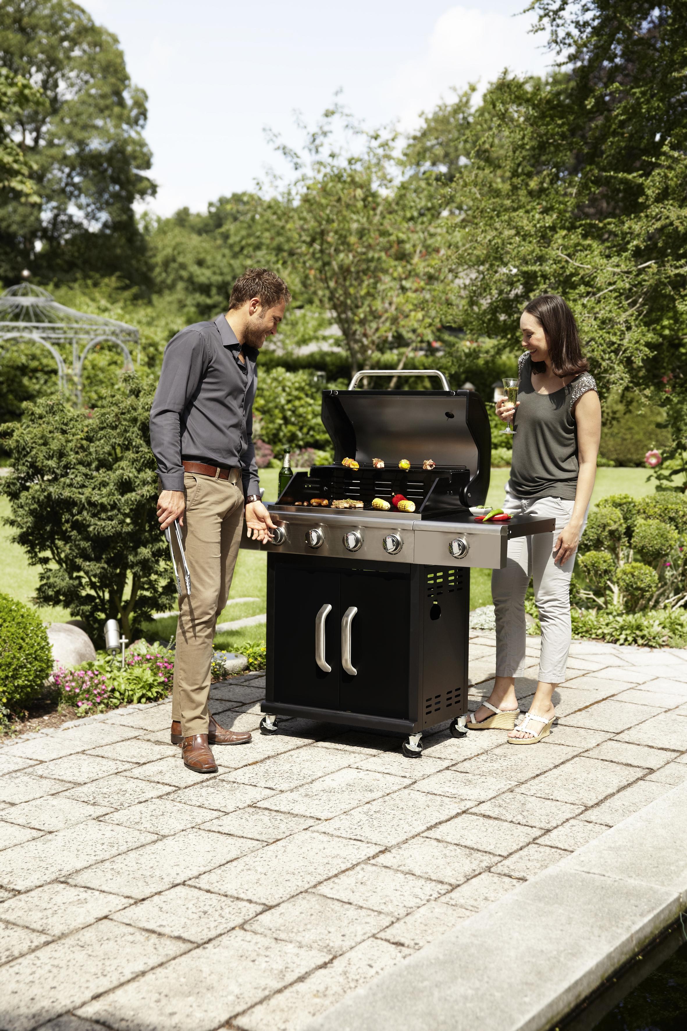 grill gazowy landmann triton 4,1 black