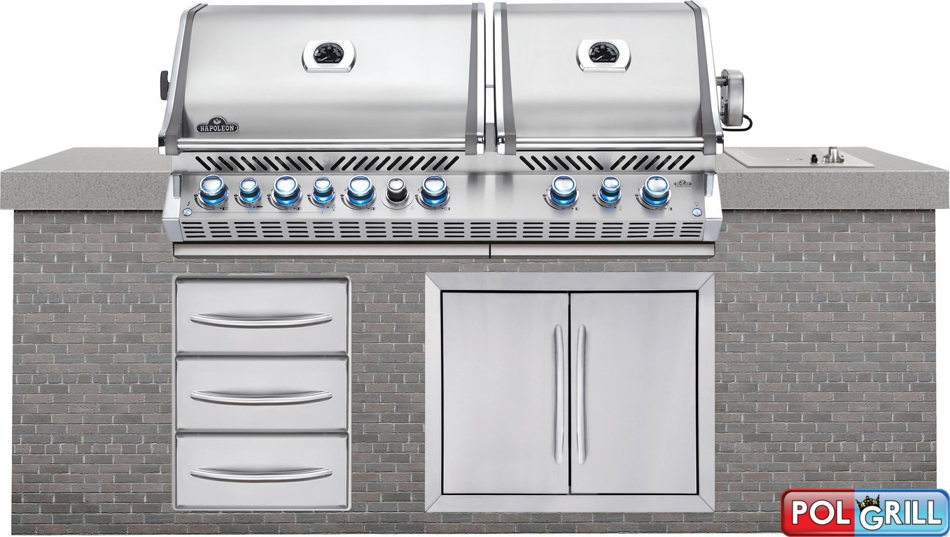 napoleon builit grill bipro 825