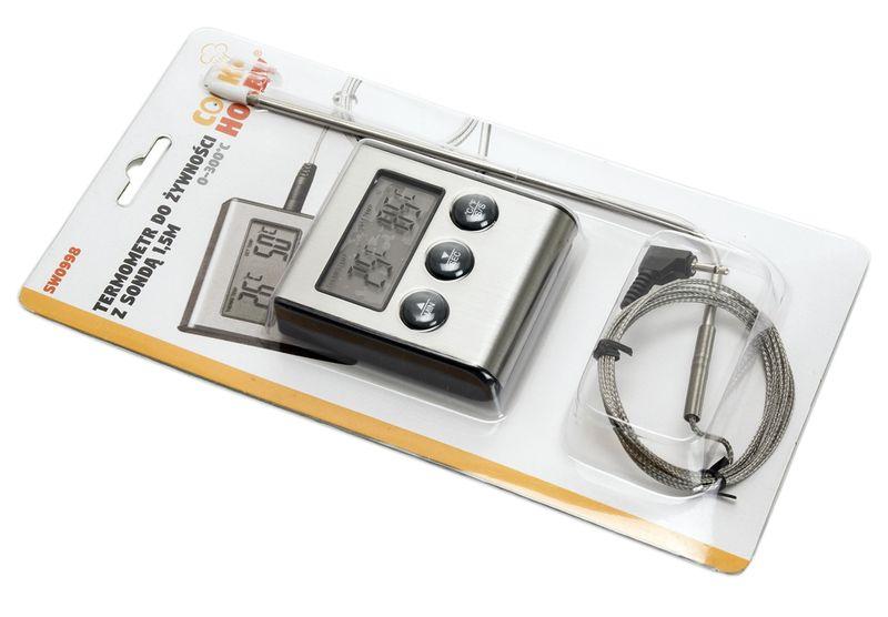 termometr z sondą polgrill