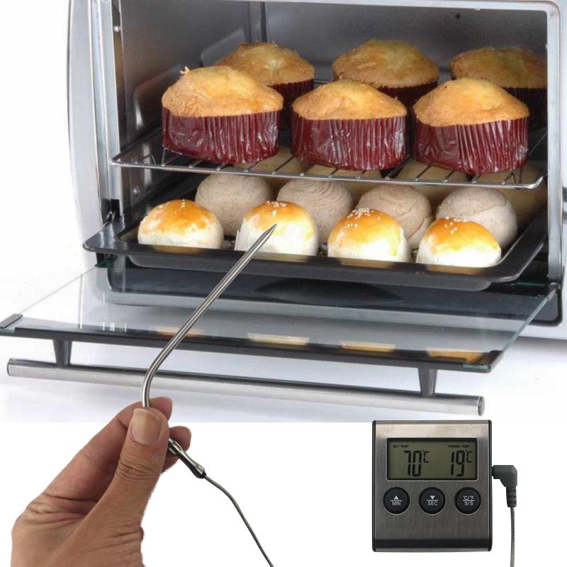 termometr z sondami i timerem