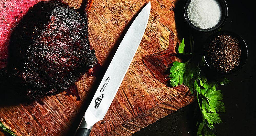 napoleon carver knife polgrill